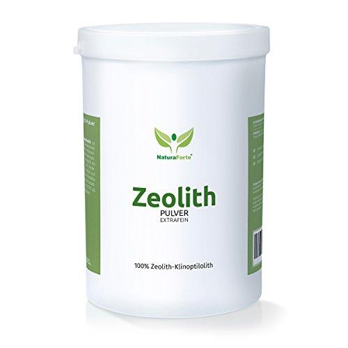 zeolithpulver naturaforte zeolith klinoptilolith mineralerde pulver 900g zeolithpulver. Black Bedroom Furniture Sets. Home Design Ideas