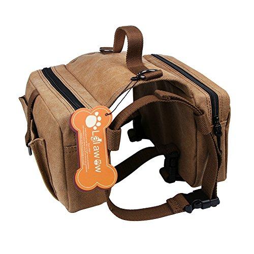 blackgoddy hund rucksack verstellbar pack satteltasche stil hund zubeh r f r wandern camping. Black Bedroom Furniture Sets. Home Design Ideas